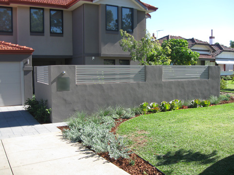 Mount Pleasant Landscaping Project Constructed By Think Green Landscapes In P